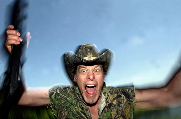 Ted Nugent: Politics put career in 'StrangleHold'.
