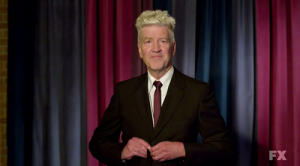 """It'ssss The Late Show With David Lynch!"""